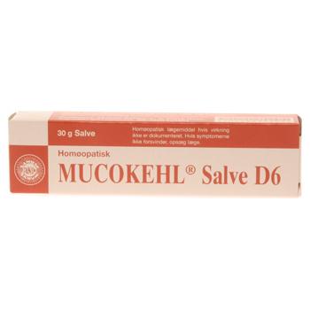 Image of   Mucokehl salve D6 Sanum Kehlbeck - 30 gram