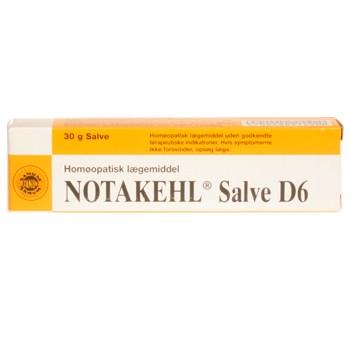 Image of   Notakehl salve D6 Sanum Kehlbeck - 30 gram