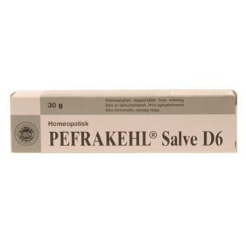 Image of   Pefrakehl D6 salve fra Alexapharma - 30 gram
