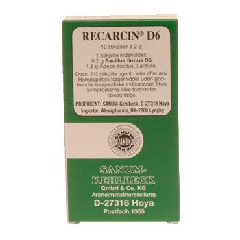 Image of   Recarcin D6 stikpiller Sanum Kehlbeck - 10 stk.