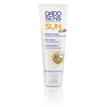 Image of   Dado Sens børnesolcreme faktor 30 125 ml.