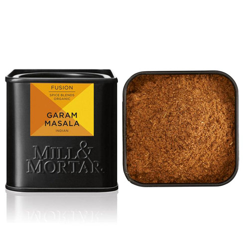 Image of   Garam Masala Økologisk fra Mill & Mortar - 50 gram