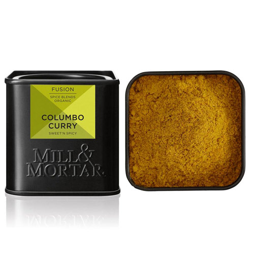 Colombo Curry Økologisk fra Mill & Mortar - 50 gr