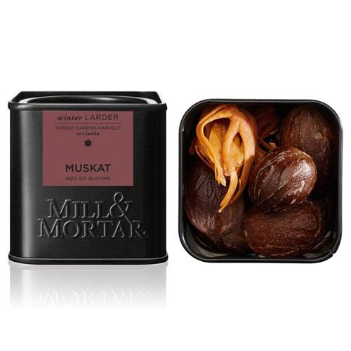 Image of   Muskatnød og blomme Ø fra Mill & Mortar - 45 gram