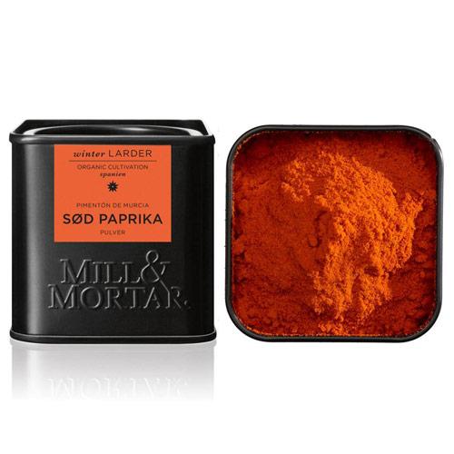 Image of   Paprika sød Murcia Øko fra Mill & Mortar - 50 gram