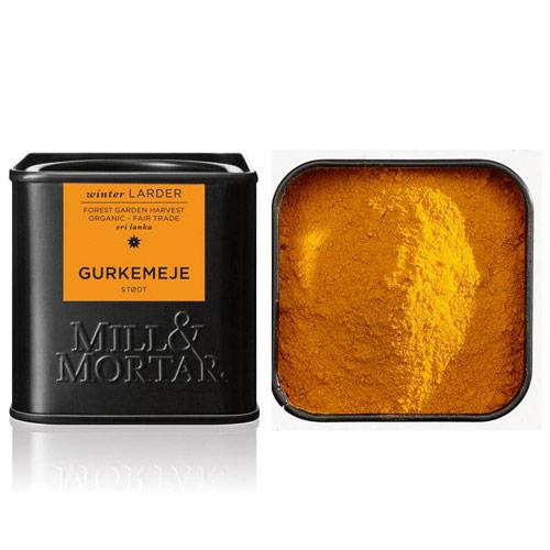 Gurkemeje stødt Ø fra Mill & Mortar - 50 gram