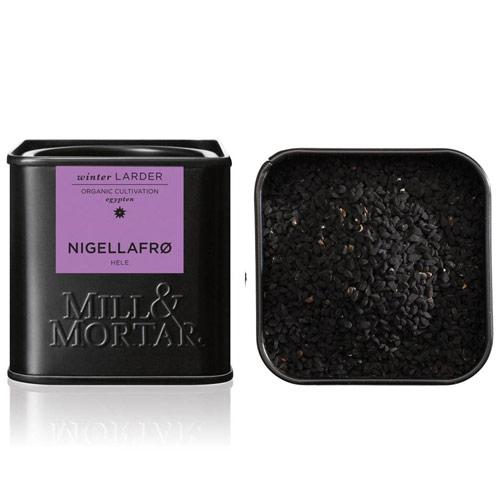 Image of   Nigellafrø hele Øko fra Mill & Mortar - 50 gram