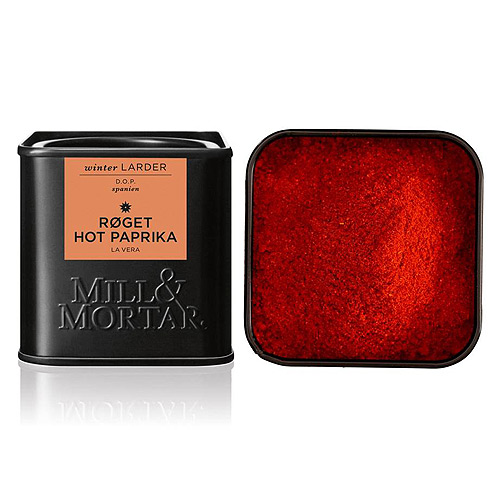 Paprika røget Hot fra Mill & Mortar - 50 g