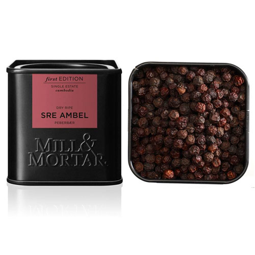 Image of   Peber Dry ripe Sre Ambel fra Mill & Mortar - 50 g
