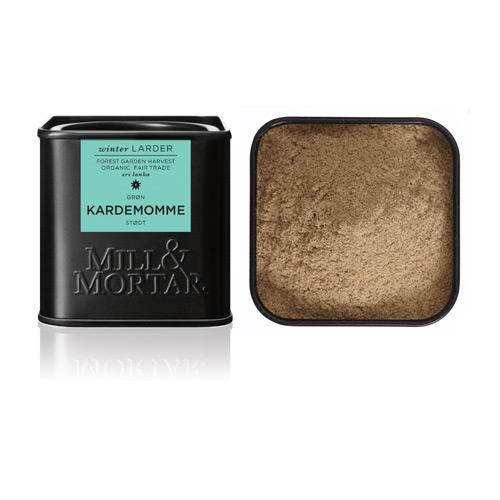 Image of   Kardemomme stødt øko fra Mill & Mortar - 30 gram