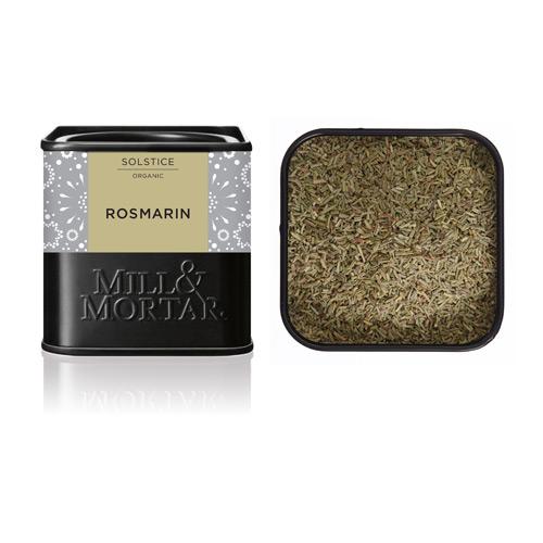 Image of   Rosmarin skåret Øko fra Mill & Mortar - 30 gram