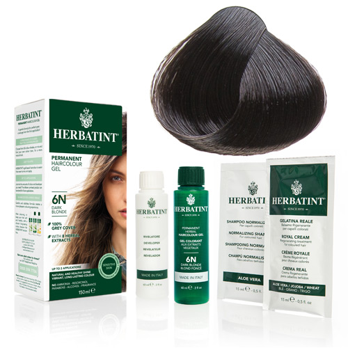 Herbatint 3N hårfarve Dark Chestnut - 135 ml