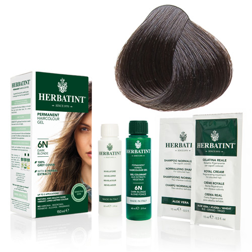 Herbatint 4N hårfarve Chestnut - 135 ml