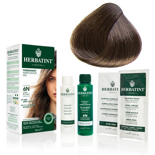 Herbatint 5N hårfarve Light Chestnut - 135 ml