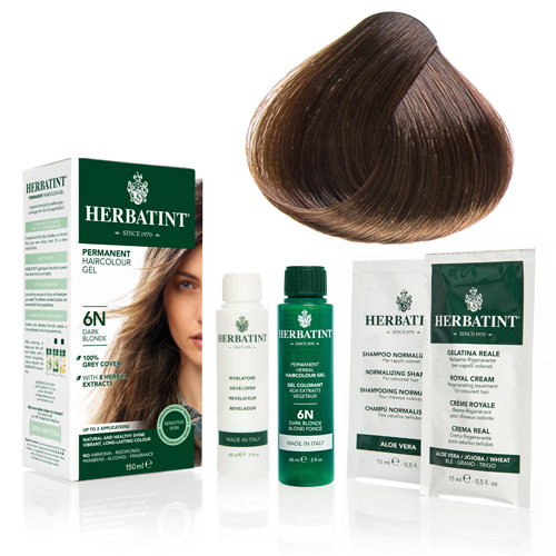 Herbatint 6N hårfarve Dark Blonde - 135 ml