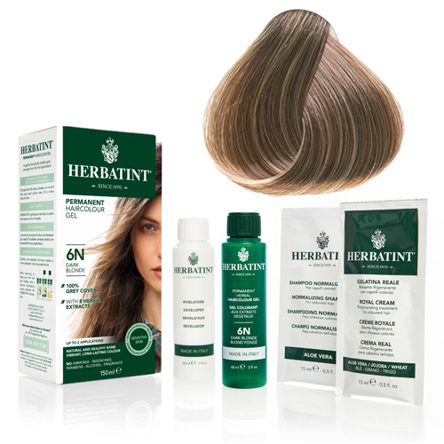 Herbatint 7N hårfarve Blonde - 135 ml