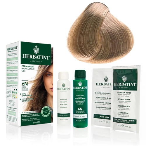 Herbatint 8N hårfarve Light Blonde - 135 ml