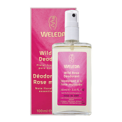 Weleda Wild Rose Deodorant - 100 ml.