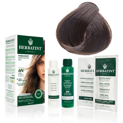 Herbatint 4D hårfarve Golden Chestnut - 135 ml