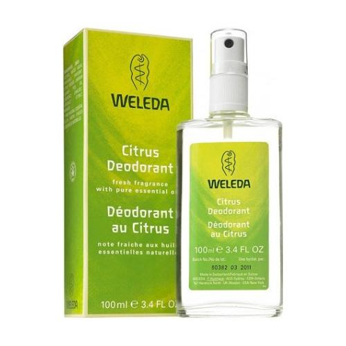 Weleda Citrus Deodorant - 100 ml.