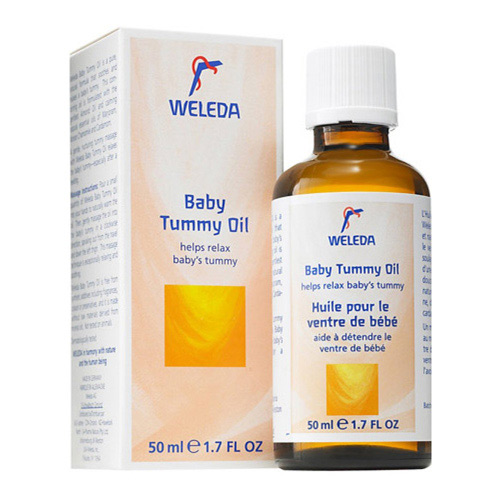 Baby Tummy Oil fra Weleda - 50 ml.