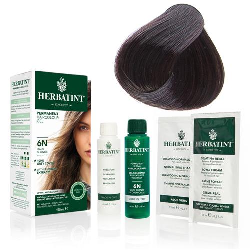 Herbatint 4M hårfarve Mahogany Chestnut - 135 ml