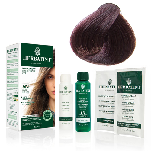 Herbatint 5M hårfarve Light Mahogany Che. - 135 ml