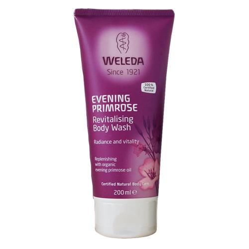 Weleda Evening Primrose bodywash - 50 ml.