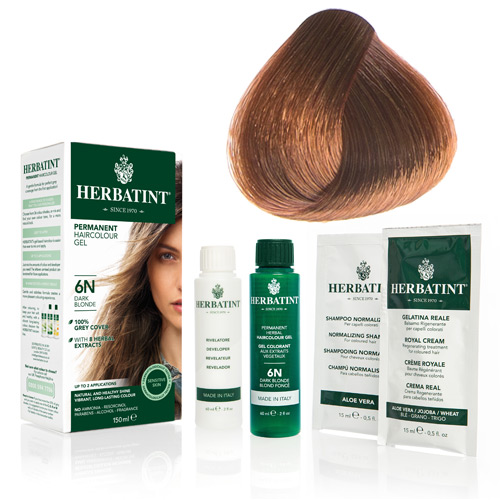 Herbatint 7R hårfarve Copper Blonde - 135 ml