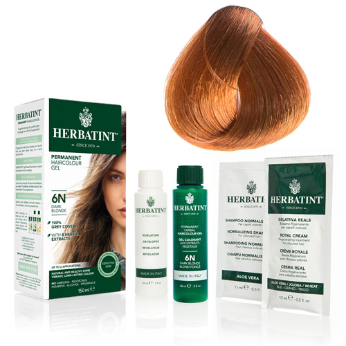 Herbatint 8R hårfarve Light Copper Blonde - 135 ml