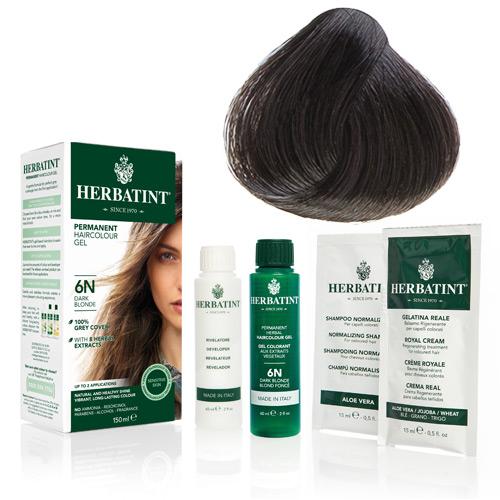 Herbatint 4C hårfarve Ash Chestnut - 135 ml