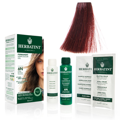 Herbatint FF 1 hårfarve Henna Red - 135 ml