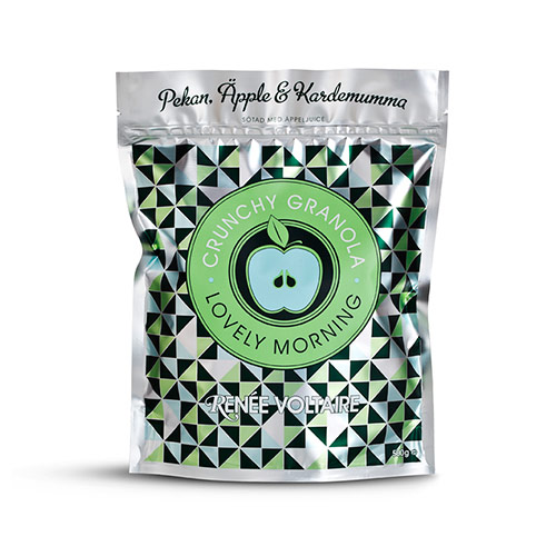 Image of   Granola crunchy pekannød æble kardemomme - 500 gr