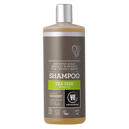 Tea Tree Shampo til irriteret hovedbund - 500 ml.