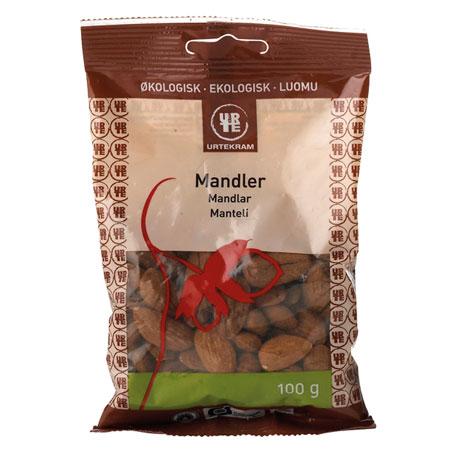 Mandler Økologiske søde Spanske - 100 gram