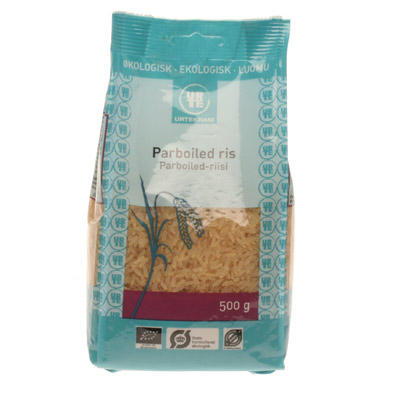 Ris parboiled økologiske - 500 gram