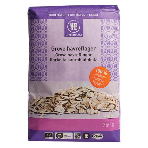 Havreflager grove Økologiske - 750 gram
