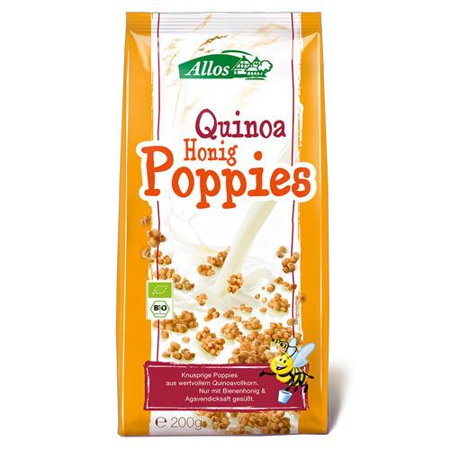 Image of   Quinoa honning poppies fra Allos Ø - 200 gram