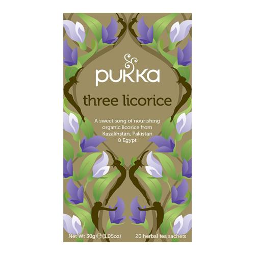 Pukka Three Licorice te Økologisk - 20 breve