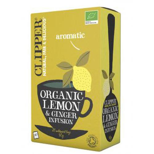 Clipper Citron & Ingefær te Økologisk - 20 breve