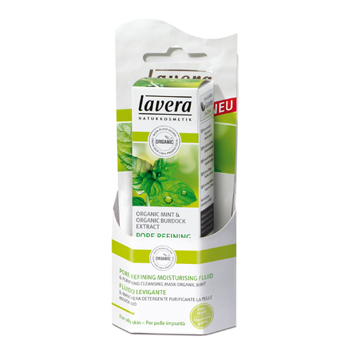 Lavera FACES Flydende fugtcreme uren hud - 30 ml.
