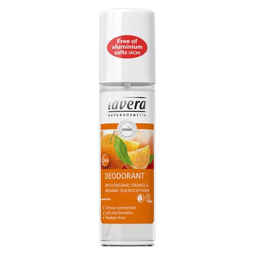 Lavera Deodorant Spray Appelsin & Havtorn - 75 ml.