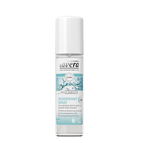 Lavera Basis Sensitiv Deodorant Spray - 75 ml.