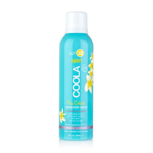 Image of   Coola Sport spray SPF 30 Pina colada - 236 ml.