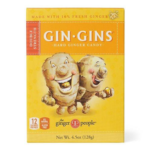 Image of   GIN-GINS Ingefær bolcher - 84 gram