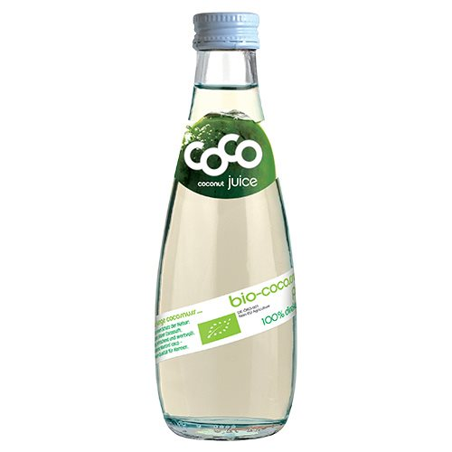 Coco Juice i glasflaske Dr. Martins Ø - 200 ml.