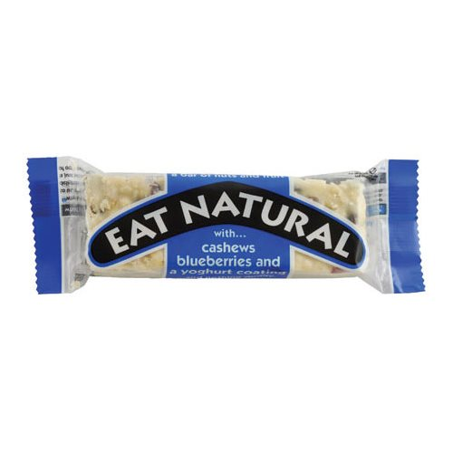 Eat Naural Blåbær & Pistachebar - 45 gram
