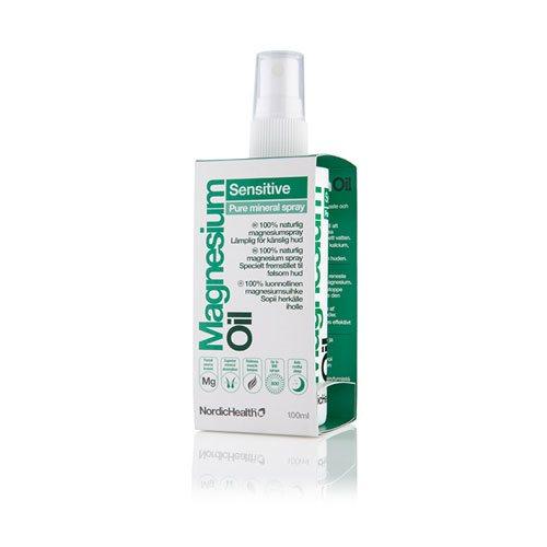 Magnesium spray Sensitive fra NordicHealth  100 ml