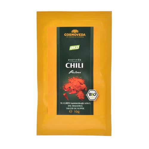 Image of   Chili pulver økologisk - 25 gram