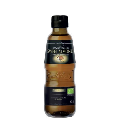 Image of Mandelolie koldpresset Økologisk - 250 ml.